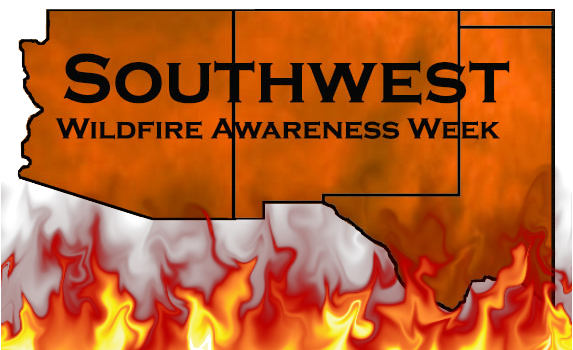 Logo Southwest Wildfire Awareness Week