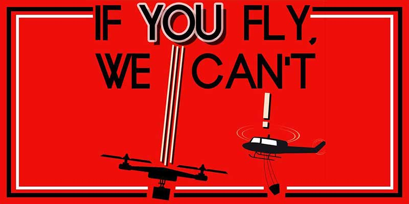 If You Fly We Can't - No Drones