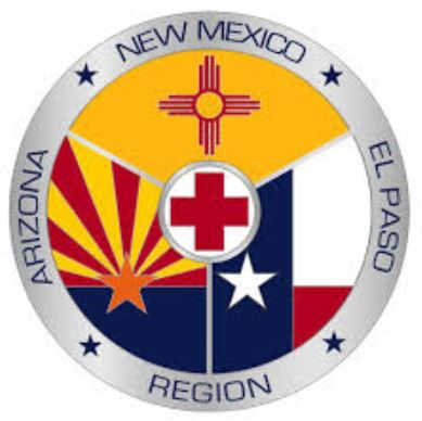 Red Cross - AZ, NM, El Paso Logo